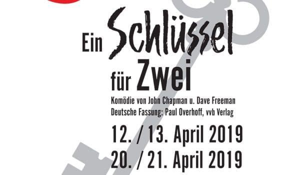 """Plakat """"Ein Schlüssel für Zwei"""""""